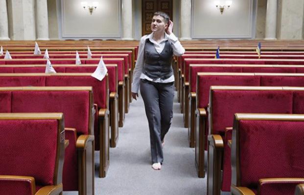 Украинские народные избранники исключили Савченко изделегации вПАСЕ