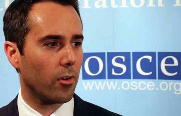 Хуг: ОБСЕ фиксирует уменьшение количества нарушений режима предотвращения огня наДонбассе