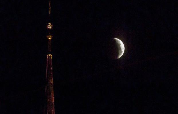 Несколько замечательных фотографий лунного затмения 21.01.2019